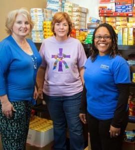 GCS food pantry_volunteers